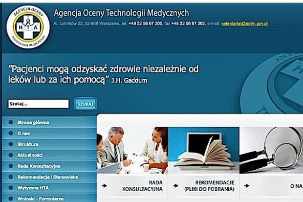 Rada Konsultacyjna AOTM oceni nowe terapie