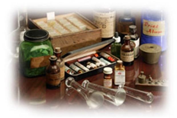Muzeum w Praszce wystawia historię farmacji