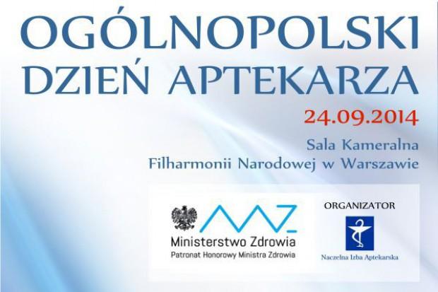 24 września 2014 r. – Ogólnopolski Dzień Aptekarza