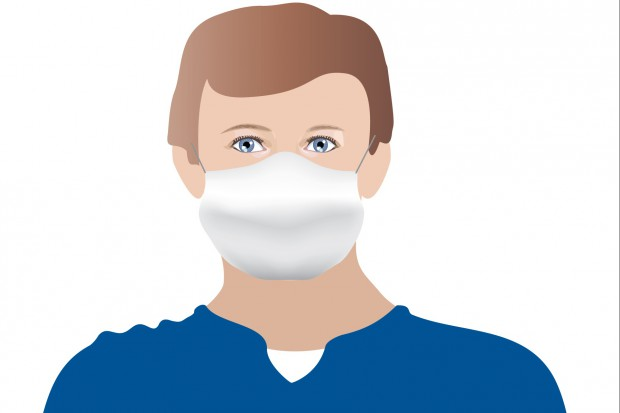 Kontrowersyjną maseczką w Ebolę, i nie tylko