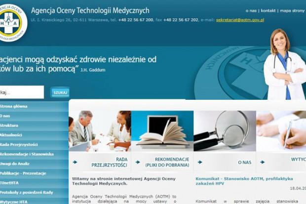 AOTM: Rada Przejrzystości przeciwko refundacji produktu leczniczego MabThera