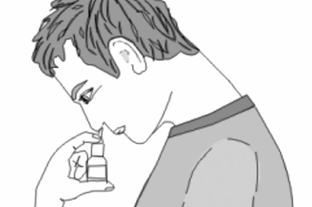 Spray do nosa przeciwko migrenie