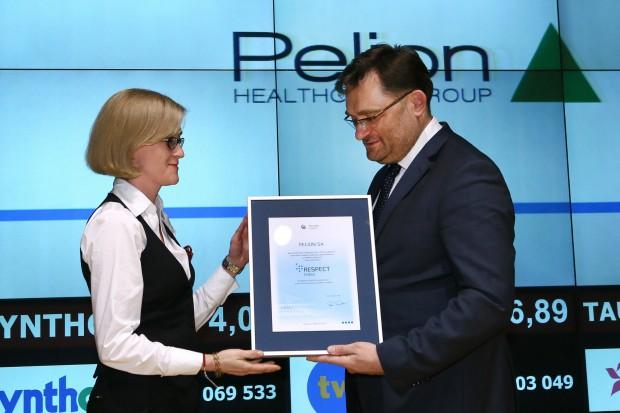 Pelion po raz trzeci doceniony jako spółka giełdowa