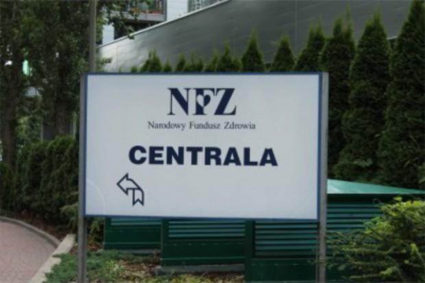 Zmiany w regulaminie organizacyjnym Centrali NFZ