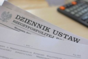 Dz.U.: nowela ustawy o świadczeniach opublikowana