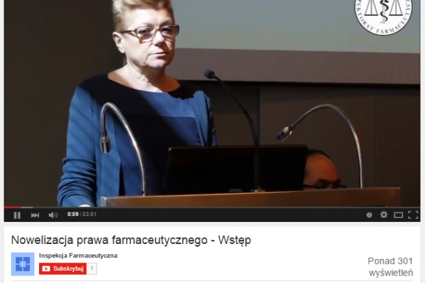 GIF zamieszcza materiały audiowizualne z konferencji o Prawie farmaceutycznym