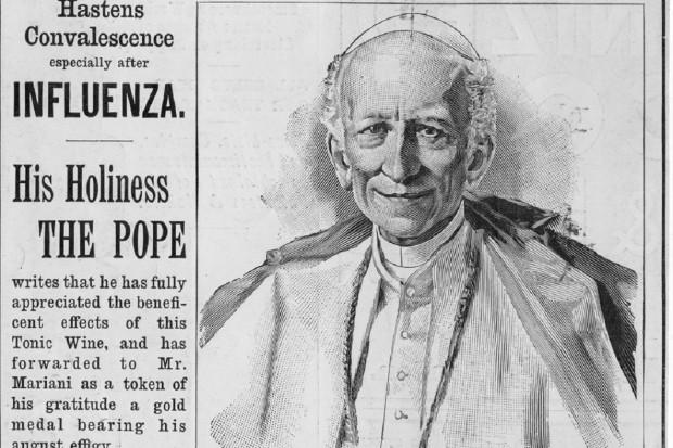 Historia: ten produkt reklamował sam papież