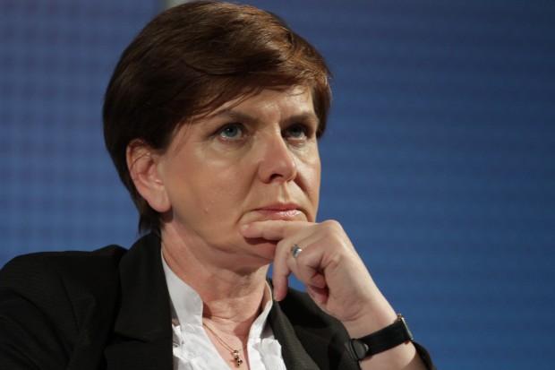 Beata Szydło: zobowiązałam ministra do konkretnych działań