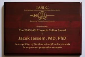 Prof. Jacek Jassem nagrodzony w Denver