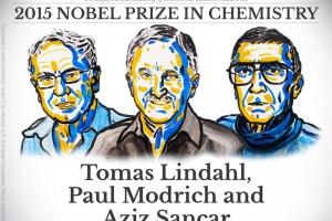 Nobel z chemii: za wyjaśnienie jak komórki naprawiają DNA