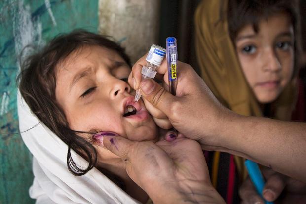 Akcja, by wyeliminować polio raz na zawsze