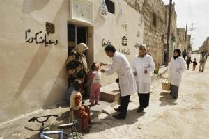 Walka z polio w Syrii to także wojna ze stereotypami