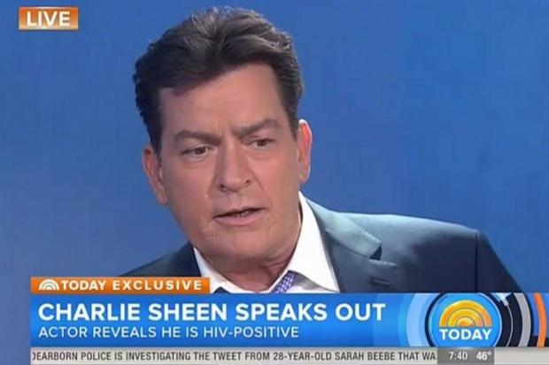 Charlie Sheen potwierdza: jestem zakażony HIV
