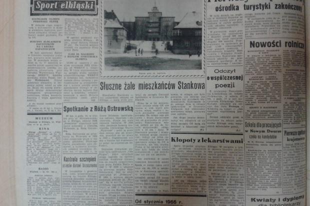 W Elblągu 50 lat temu też brakowało leków