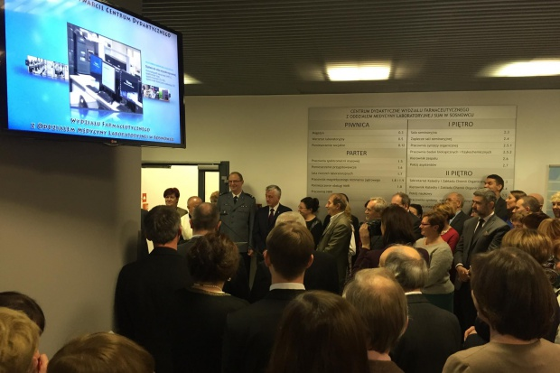Sosnowiec: rusza centrum dydaktyczne wydziału farmacji SUM