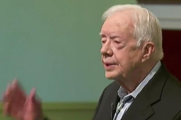 Prezydent Jimmy Carter wygrał z rakiem