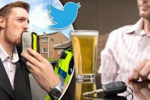 UK: prowadzisz pod wpływem alkoholu lub narkotyków? Trafisz na Twittera