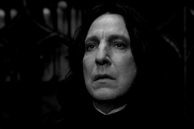 Alan Rickman - prof. Snape z Harry Pottera zmarł na raka