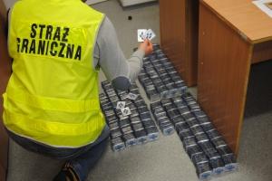 Sejny: Straż Graniczna przechwyciła przemyt leków