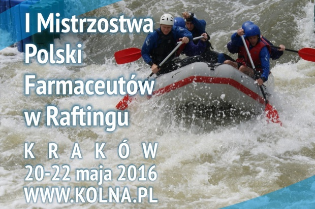Mistrzostwa w raftingu dla farmaceutów