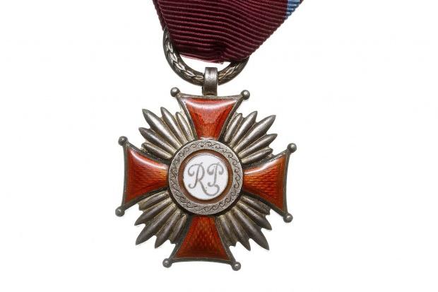 Ryszard Jasiński odznaczony Srebrnym Krzyżem Zasługi RP