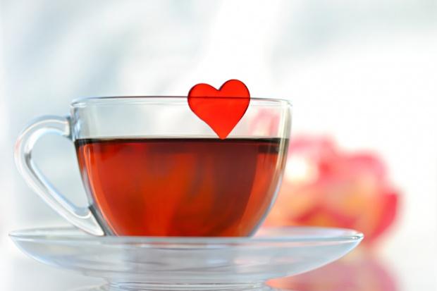 Herbata lekiem na serce