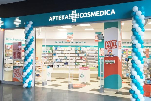 Olsztyn: Cosmedica uruchomiła tu aptekę