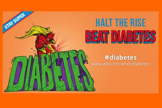 """Światowy Dzień Zdrowia pod hasłem """"Pokonaj cukrzycę"""""""
