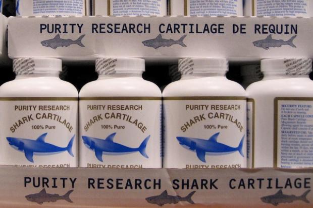 Suplementy z chrząstką rekina mogą zagrażać zdrowiu pacjentów