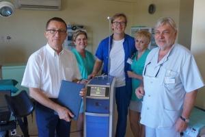 Pabianice: Aflofarm ufundował laser holmowy