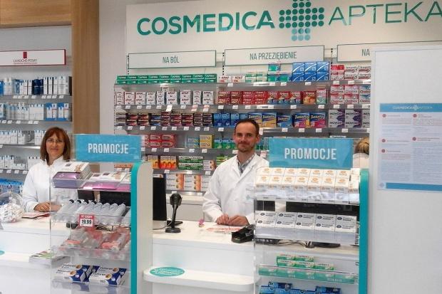 Pierwsza w Świnoujściu apteka sieci Cosmedica