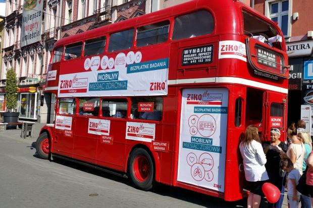 Mobilny autobus ZIKO rusza w dalszą drogę