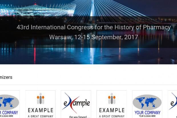 Warszawa: 43. Międzynarodowy Kongres Historii Farmacji