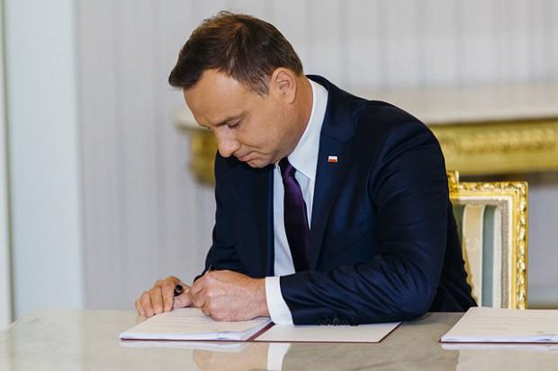 Prezydent podpisał dwie ustawy