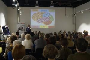 Łódź: były wykłady i ćwiczenia stymulujące pracę mózgu