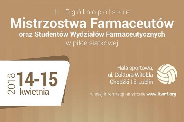Lublin: mistrzostwa farmaceutów w piłce siatkowej