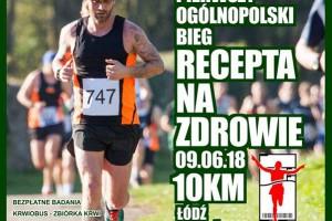 """Łódź: pierwszy ogólnopolski bieg """"Recepta na zdrowie"""""""