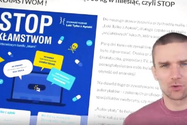 """STOP kłamstwom w internetowym handlu """"lekami"""""""