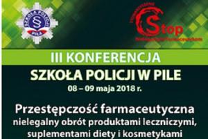 Piła: konferencja dot. przestępczości farmaceutycznej