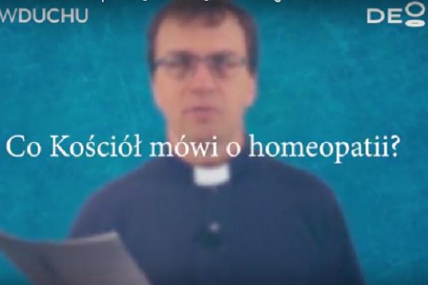Jan Paweł II nie powiedział, że homeopatia jest grzechem, ale...
