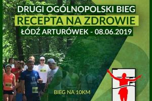 Łódź: II Ogólnopolski bieg Recepta na Zdrowie