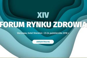 XIV Forum Rynku Zdrowia - pozostało kilka dni na rejestrację