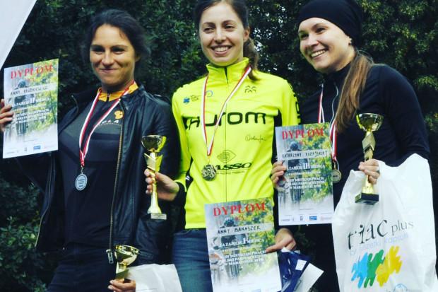 Farmaceutka z kieleckiej Izby obroniła tytuł Mistrzyni Polski Farmaceutów w maratonie MTB