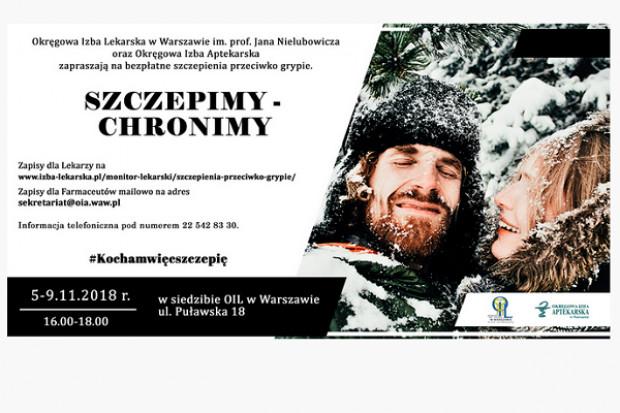 Warszawa: farmaceuci zaszczepią się przeciwko grypie