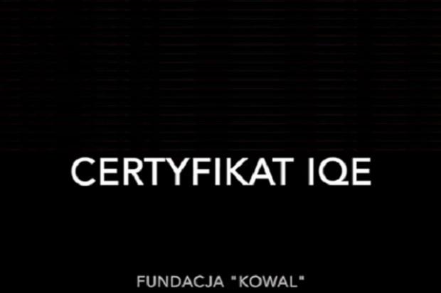 Jak wygenerować certyfikat w środowisku IQE