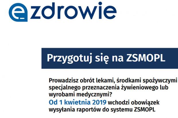 Od 1 kwietnia 2019 wchodzi obowiązek wysyłania raportów do systemu ZSMOPL