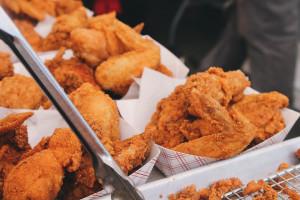 Smażony kurczak codziennie = większe ryzyko przedwczesnego zgonu