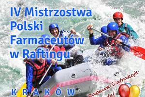 V Mistrzostwa Polski Farmaceutów w Raftingu: zmiana terminu
