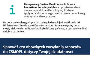 Wrocław: WIF przypomina o obowiązku raportowania do ZSMOPL
