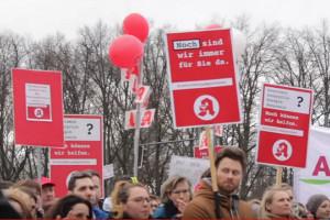 Protesty niemieckich farmaceutów
